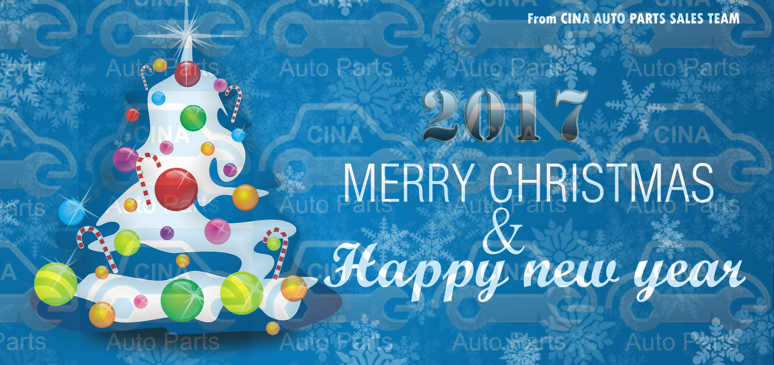 2017 HAPPY NEW YEAR - Merry Christmas and 2017 Happy New Year for all Friends