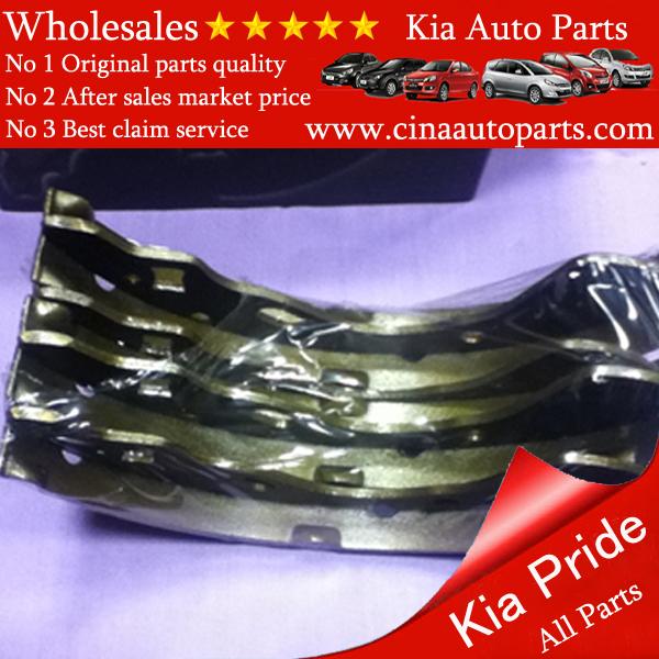 brake pad for back Pride KIA MOTOR 起亚 Pride车型 后制动垫片 - kia pride rear brake shoe wholesales
