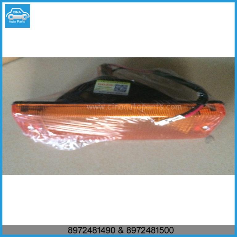 8972481490 and 8972481500 768x768 - 97-03 Isuzu Ippon R bumper turn signal light OEM 8972481490,8972481500