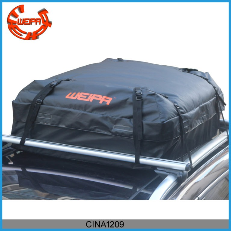 roof cargo bag 768x768 - Weipa Waterproof Roof Top Cargo Bag (15.05 Cubic Feet) Super Strong and Extra Waterproof Tarpaulin Material –Ideal For Road Trips