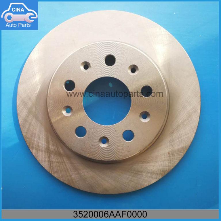 3520006AAF0000 768x768 - GAC Rear Brake Disc OEM 3520006AAF0000