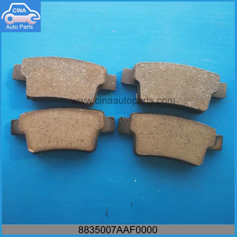 8835007AAF0000 768x768 - GAC Rear Brake Pads OEM 8835007AAF0000