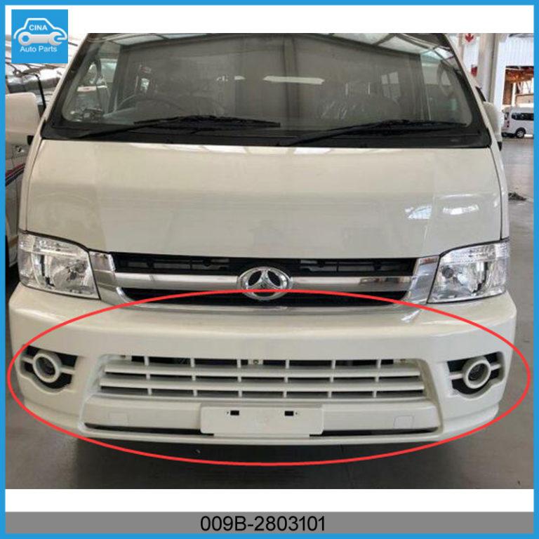 009B 2803101 768x768 - BAW SASUKA front bumper OEM 009B-2803101