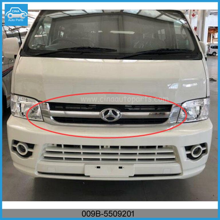 009B 5509201 768x768 - BAW SASUKA front air grille chrome plated OEM 009B-5509201