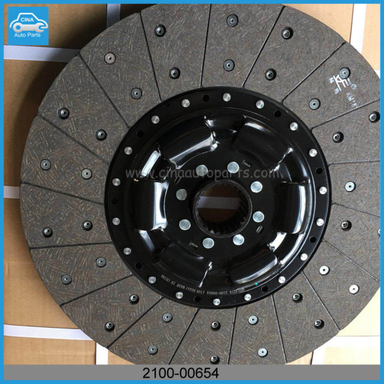 2100 00654 disc 768x768 - Yutong bus spare parts 2100-00654 clutch driven disc