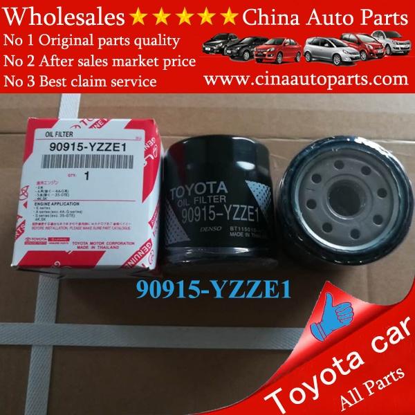 90915 YZZE1 - oil filter for toyota OEM 90915-yzze1