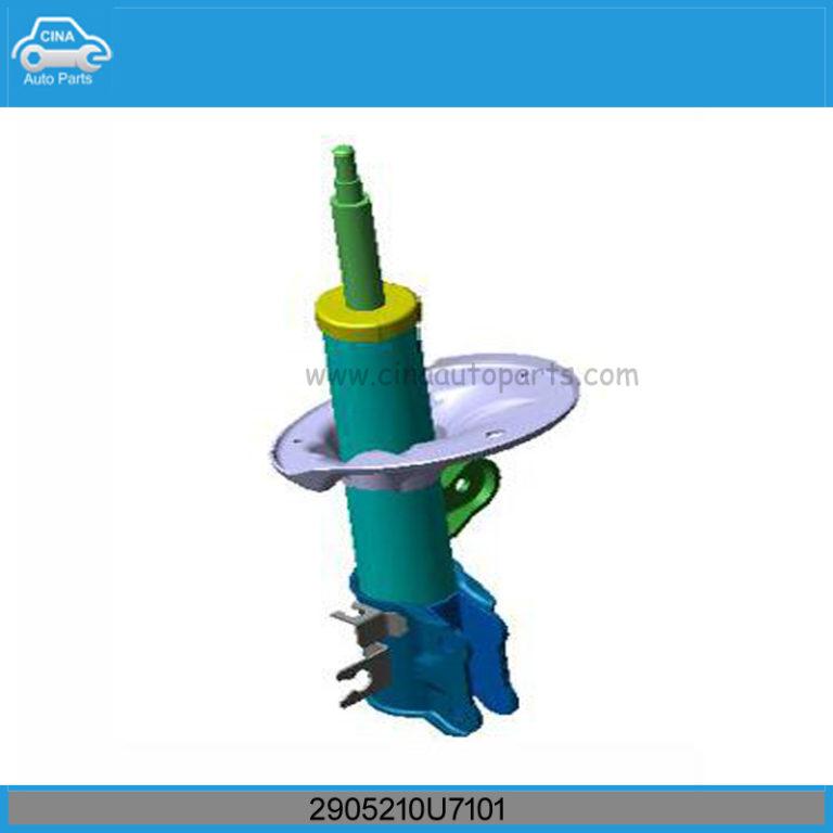 2905210U7101右前减震器 768x768 - JAC J6 Front Shock Absorber Strut And Spring Right OEM 2905210U7101