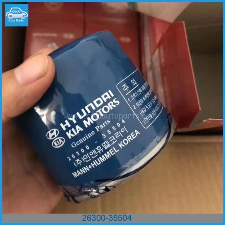 26300 35504 2 768x768 - Hyundai/KIA 2630035504 Gasoline Oil Filter Fits for most Hyndai / Kia gasoline vehicles
