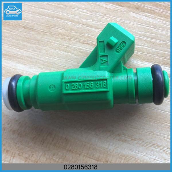 0280156318 - Peugeot 206 307 1.6 16V Petrol Injector NFU 0280156318