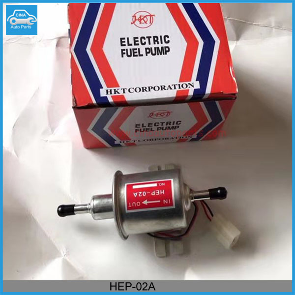 HEP 02A electronic fuel pum 00 - Universal HEP02A 12V Low Pressure 2.5-4 PSI Gas Diesel Inline Electric Fuel Pump HEP-02A