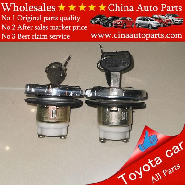69058 60071 - Toyota Land Cruiser BJ40 FJ40 FJ45 FJ55 HJ45 Cylinder Key Fuel Inlet Lock OEM 69058-60071 Cylinder Lock Fuel Tank Cap