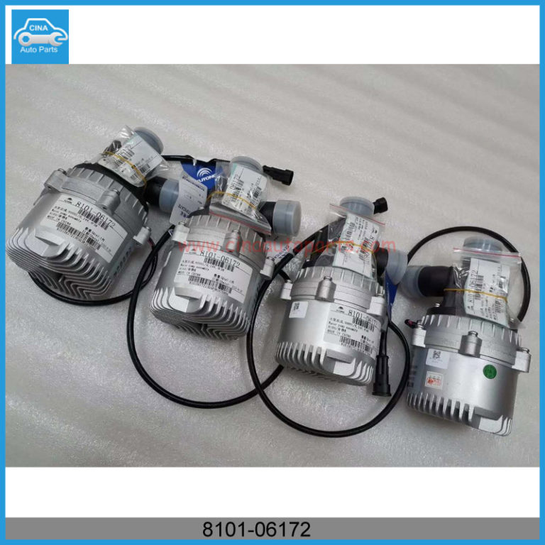 8101 06172 768x768 - Yutong pure electric bus new energy bus ZK6805/E8 motor cooling water pump OEM 8101-06172