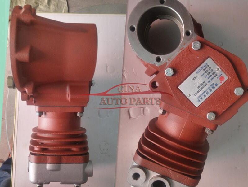 612600130177潍柴空压机 - OEM 612600130177 Weichai Euro II WD615 Engine Parts Air Compressor