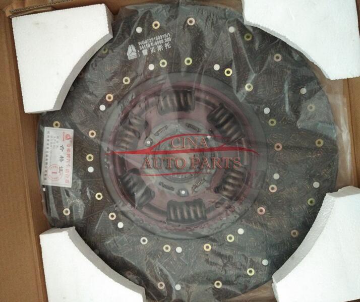 WG9914161100离合器片 - Howo truck clutch disc OEM WG9914161100